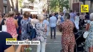 Tongeren neemt afscheid van leerkracht Filip Brone met staande ovatie