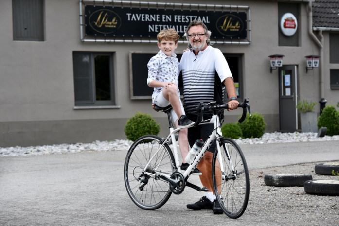Wellenaar fietst 1.000 km voor Mucovereniging