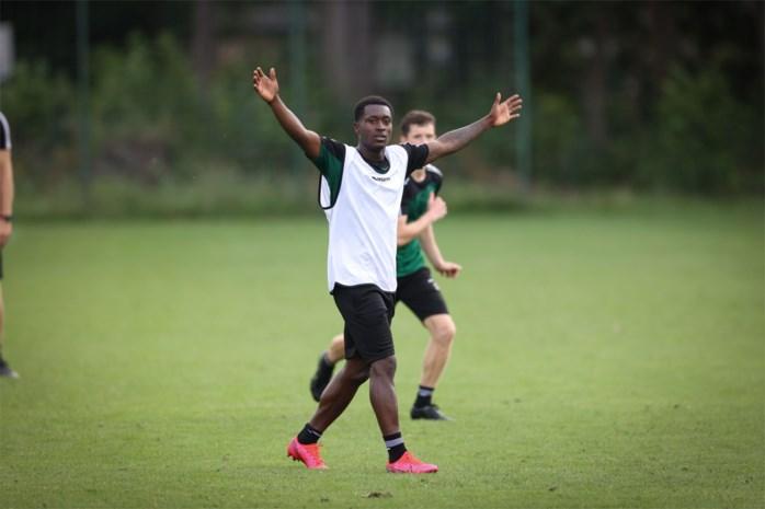 Moreno traint mee bij Lommel SK, Ugalde vanaf zaterdag
