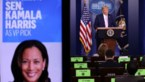 Trump trekt Amerikaanse afkomst Kamala Harris in twijfel, zoals bij Obama
