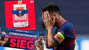 Kranten na sensationele kwartfinale Barcelona-Bayern: 'Zege van de eeuw' versus 'Historische slachting'