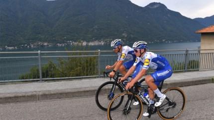 LIVE. Remco Evenepoel komt zwaar ten val in Ronde van Lombardije