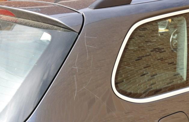 Dertien auto's bekrast in Tongeren