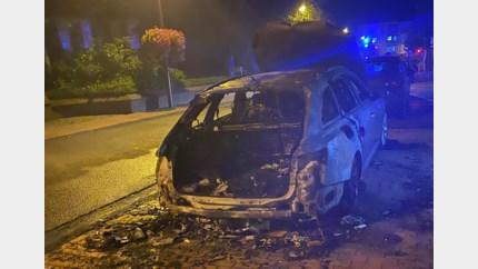 Auto uitgebrand in centrum van Neerpelt