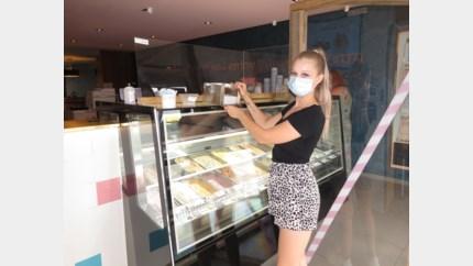 Agressieve klant slaat toog ijssalon in Lanaken aan diggelen omdat hij mondmasker moet dragen