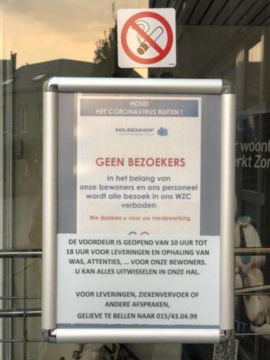 Dertig bewoners en acht personeelsleden besmet met coronavirus in woonzorgcentrum