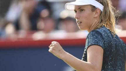 Elise Mertens zet Kristyna Pliskova opzij en bereikt finale