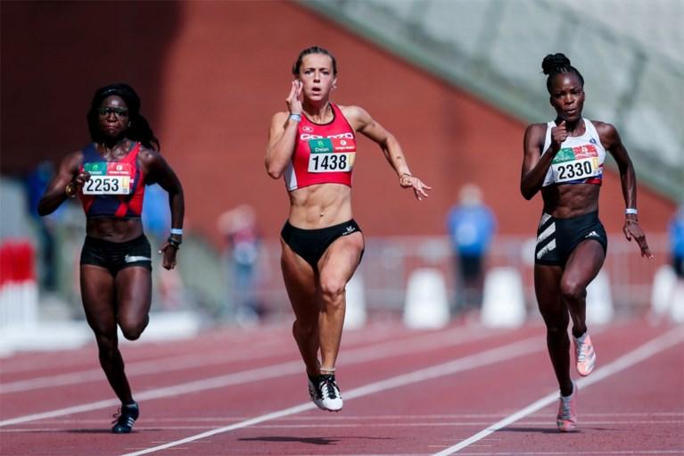 """20-jarige Rani Rosius wordt tweede snelste vrouw ooit in België na demonstratie op BK atletiek: """"Ongelofelijk"""""""
