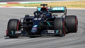 Lewis Hamilton verslaat ploegmaat Bottas nipt en verovert polepositie in GP van Spanje