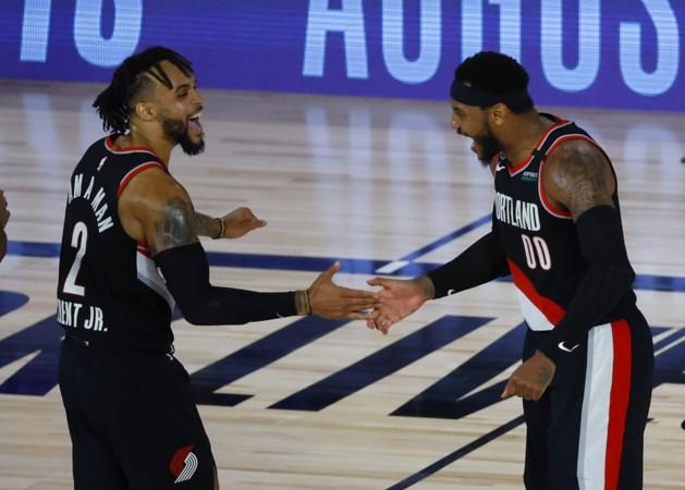 Portland Trail Blazers grijpt laatste play-off ticket in NBA