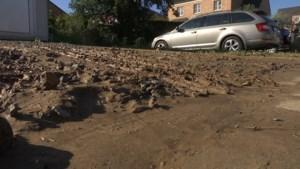 """Gingelom krijgt modderstromen te verwerken na onweders; """"Al tientallen jaren een probleem"""""""