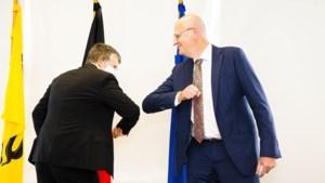 Jos Lantmeeters legt eed af als gouverneur van Limburg