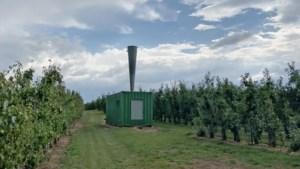 Ze kosten al snel 50.000 euro, maar fruittelers blijven fan van hagelkanonnen
