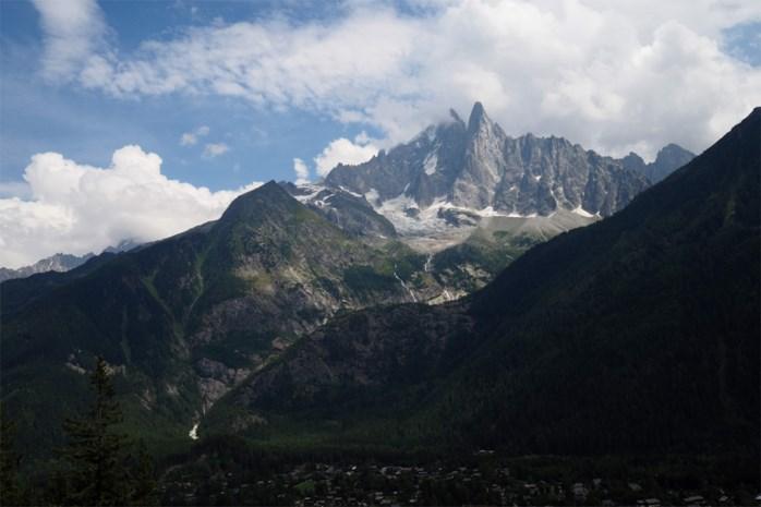 Evacuatie aan Italiaanse kant Mont Blanc wegens afbreken gletsjer