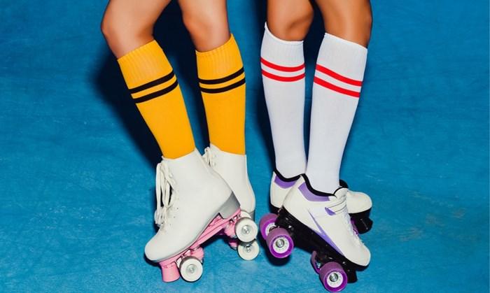 """Rolschaatsen, hoe begin je daaraan? """"Zo stijf als een robot? Dan val je verkeerd"""""""
