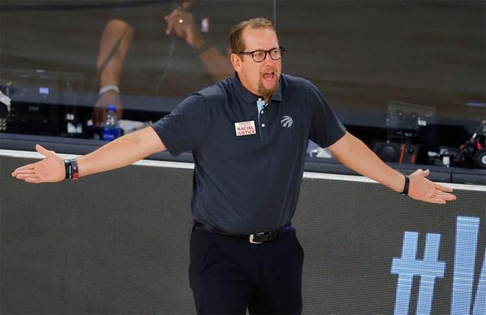 Voormalig Oostende-coach Nick Nurse verkozen tot NBA-trainer van het seizoen