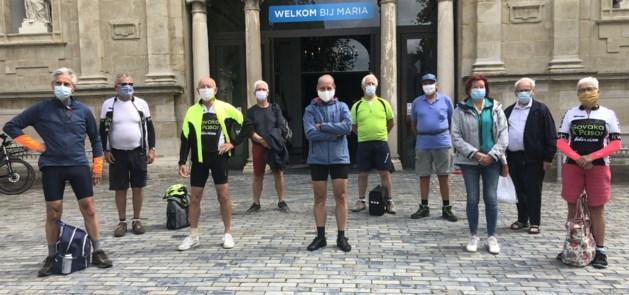 KWB met de fiets op bedevaart naar Scherpenheuvel
