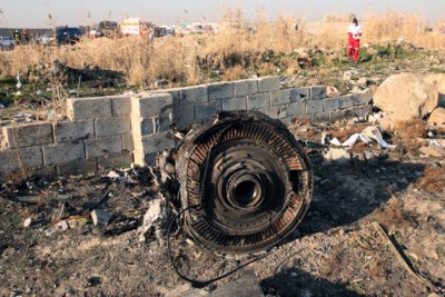 Passagiers van Oekraïens vliegtuig dat uit lucht geschoten werd in Iran, leefden nog na eerste raketinslag