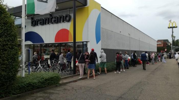 Sfeer aan Brantano Lommel even grimmig wanneer verkoper als voorkruiper wordt aanzien