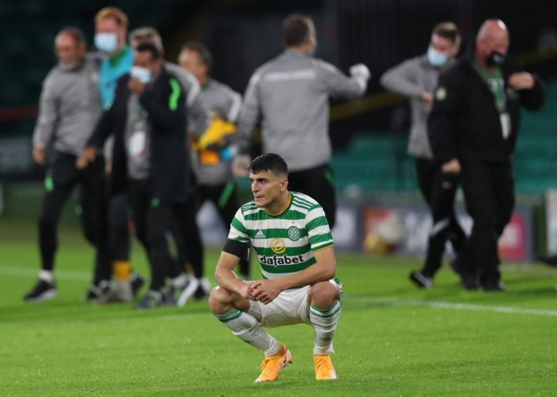 Celtic Glasgow strandt in voorrondes Champions League