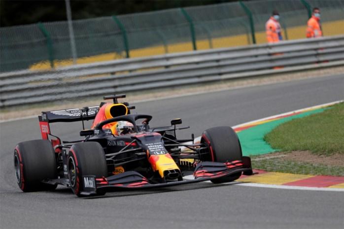 Max Verstappen is snelste in tweede oefenritten in Spa-Francorchamps