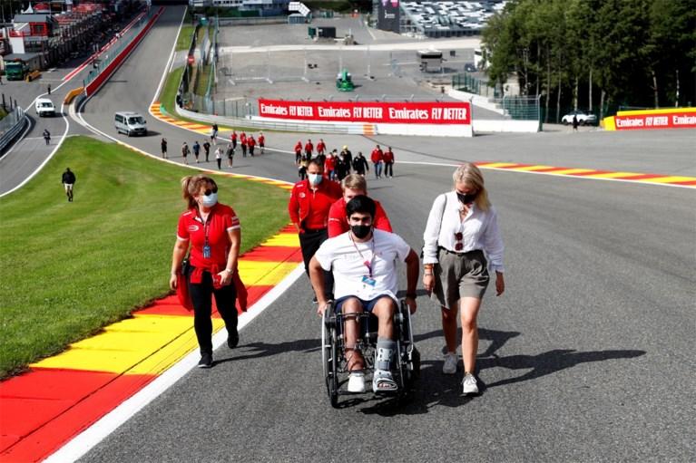 """Overlever Correa brengt jaar na dodelijke crash van Anthoine Hubert eerbetoon op Spa-Francorchamps: """"Angstiger geworden"""""""