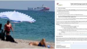 Ruim 1,1 miljoen PLF-documenten ingevuld, waarvan bijna 50.000 uit rode zone