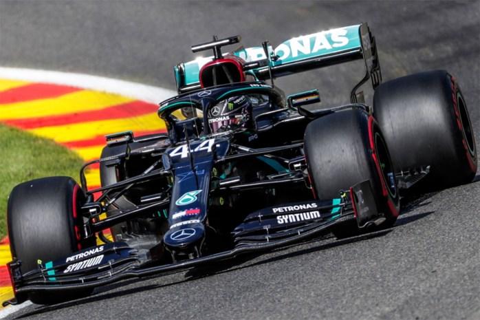 Lewis Hamilton is snelste in derde oefenritten