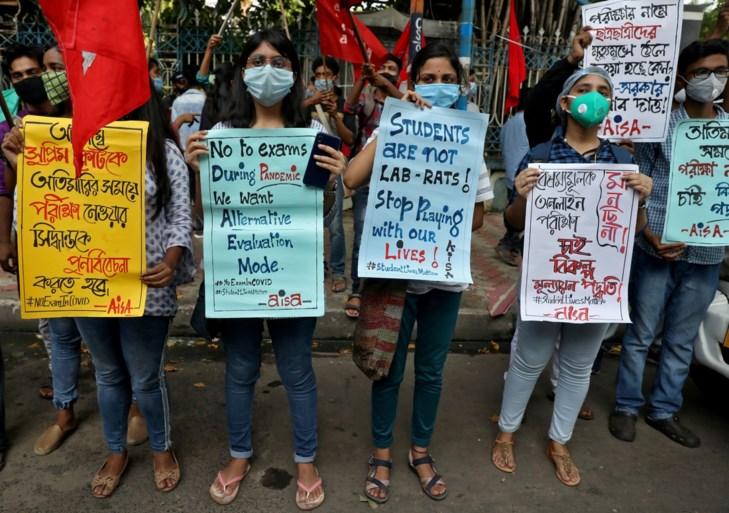 Een triest record in India: 78.761 besmettingen op één dag en meer dan 1.000 doden