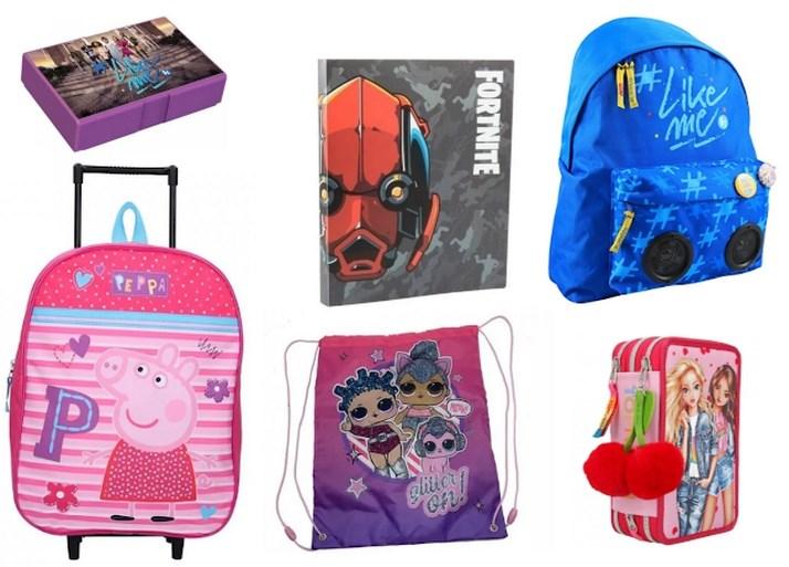 Pastel, ruimteschepen en herbruikbare drinkflessen: dit willen kinderen voor het nieuwe schooljaar
