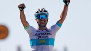 Kazachse kampioen wint op Mont Aigoual, Greg Van Avermaet knap derde