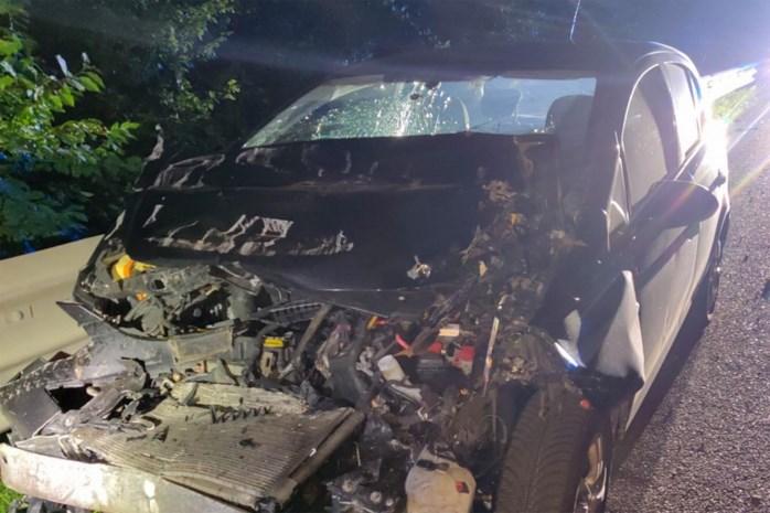 Zware crash op E313 in Hasselt: niemand gewond