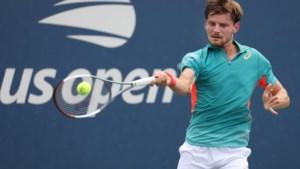 David Goffin staat opnieuw in de 1/8ste finales van de US Open