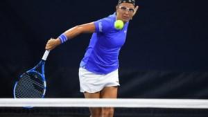 """Kirsten Flipkens is uitgeschakeld op US open maar zit vast in New York: """"Is Roland Garros zo nog wel haalbaar?"""""""