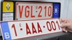 Nummerplaten beginnend met 2-AAA komen er nog dit jaar aan