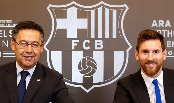 Chaos bij FC Barcelona compleet: voorzitter Bartomeu beschuldigd van corruptie, Messi wacht af