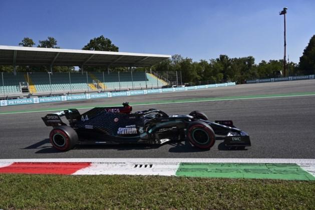 Hamilton verovert ook in Monza de pole, dramatische kwalificaties voor Ferrari