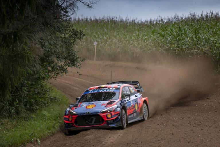 Ott Tänak staat aan kop in Rally van Estland, Thierry Neuville schuift op naar derde plaats