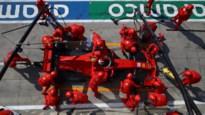 GP van Italië tijdelijk stilgelegd na zware crash van Leclerc