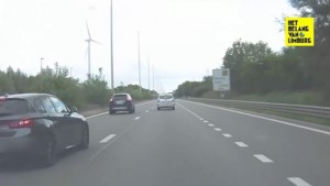 Snelheidsduivel voert gevaarlijk inhaalmanoeuvre uit op E313 in Zolder
