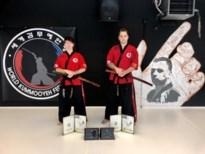 Hoogst gegradueerde trainers bij vechtsportschool