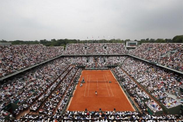 Roland Garros wordt mét toeschouwers gespeeld, maar niet de beoogde 20.000 per dag