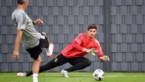 Thibaut Courtois staat gewoon op het trainingsveld bij Real Madrid