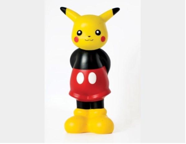 Ontmoet Mickachu: de Hasseltse designbaby van Mickey Mouse en Pikachu