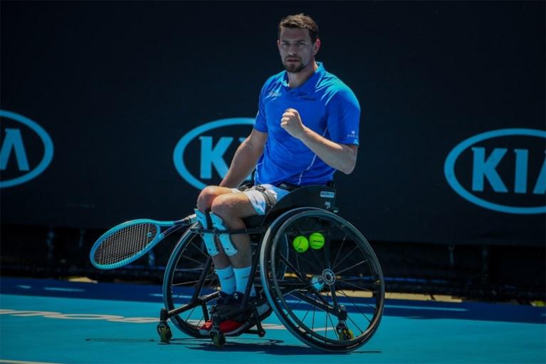"""Rolstoeltennisser Joachim Gérard staat in halve finales US Open: """"Dit is een spookplek"""""""