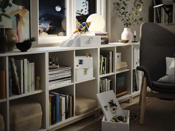 Ikea en Lego brengen spelen en opruimen samen in nieuwe collectie