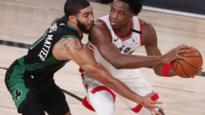NBA. Celtics winnen beslissende game tegen Raptors, Denver knokt zich naar zesde wedstrijd tegen Clippers