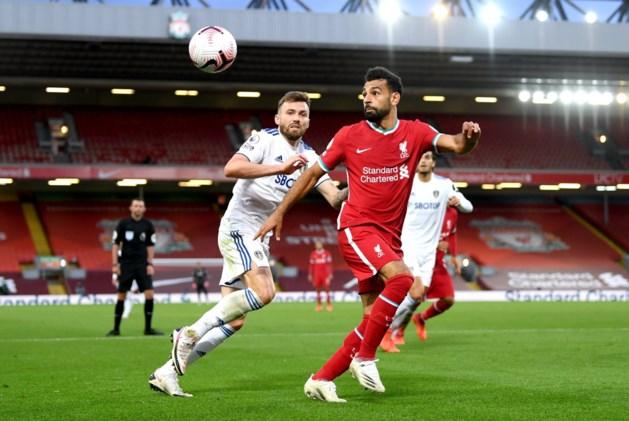 Mo Salah bezorgt Liverpool overwinning met hattrick tegen promovendus in absolute spektakelwedstrijd