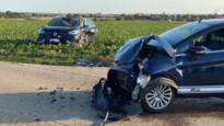 Vier gewonden bij zware klap op kruispunt ruilverkavelingswegen