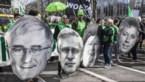 4.000 deelnemers voor Grote Betoging voor Gezondheidszorg, enkele honderden betogers weigeren te vertrekken